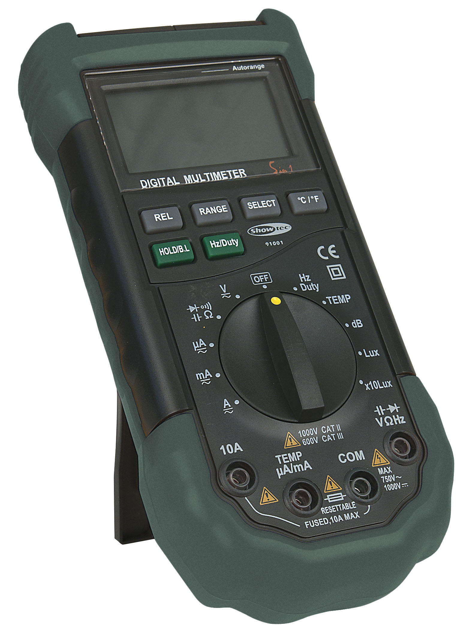 Digital Multimeter 5 in 1 Autorange SHOWTEC