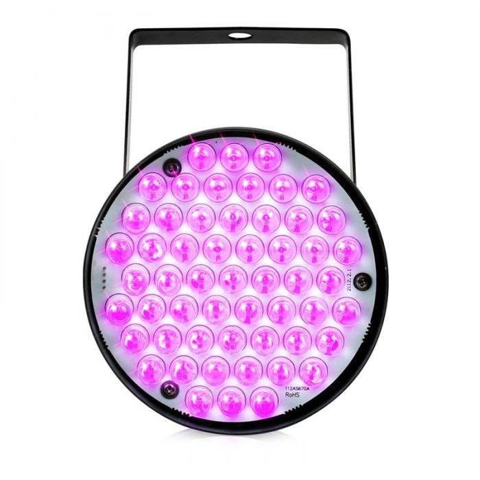 AKCIJA! LED reflektor PAR36 RGB 60x 10mm ledice DMX X-LIGHT
