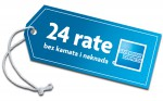 Amex kartice do 24 rate bez kamata i naknada