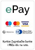 ePay plaćanje karticama